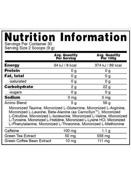 Optimum Nutrition Amino Energy Diet Supplement, 270 G-PINEAPPLE-270 g-2
