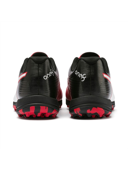 PUMA 105565 CRICKET SHOES-7-Red-Black-1
