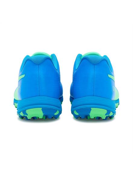 PUMA 105565 CRICKET SHOES-Elektro Green-Nrgy Blue-8-2