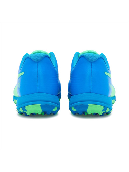 PUMA 105565 CRICKET SHOES-9-Elektro Green-Nrgy Blue-2
