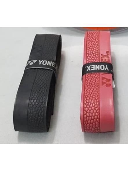 YONEX AC 7500 E GRIP (Colour may vary)-Black / Red-1