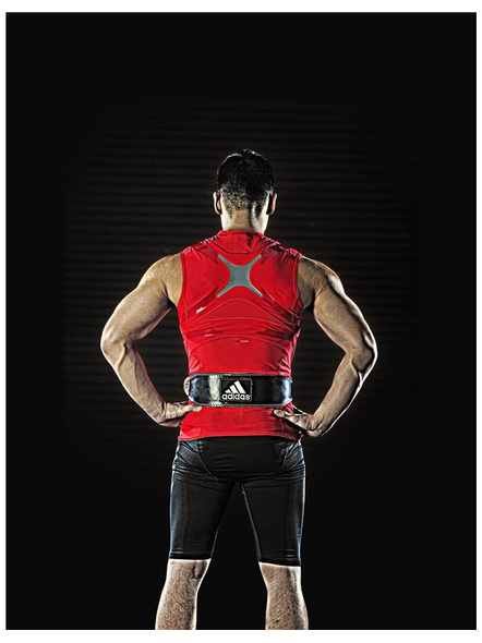 adidas Leather Weightlifting Belt-NA-L --2