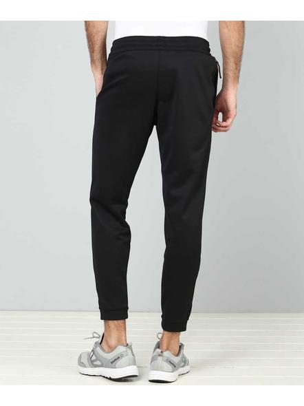 Nike Solid Men Black Track Pants-010-XXL-1