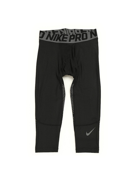 Nike Mens Pro Tech-Fit HyperCool 3/4 Compression Short Tight Asian-Fit - Black (801226-010)-13521