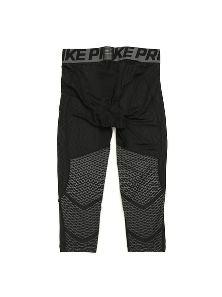 Nike Mens Pro Tech-Fit HyperCool 3/4 Compression Short Tight Asian-Fit - Black (801226-010)-010-S-1