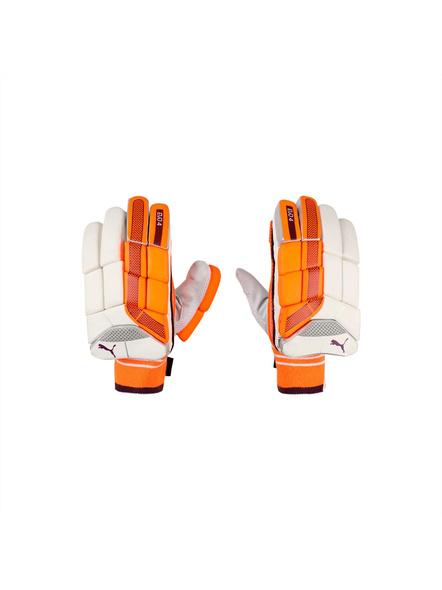 PUMA 041368 CRICKET BATTING GLOVES (Colour may vary)-YOUTH-Orange-white-1