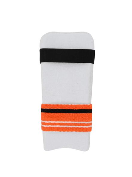 PUMA 030675 ELBOW GUARD-MENS-White-orange-1