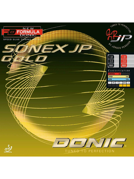 DONIC SONEX JP GOLD TABLE TENNIS RUBBER-RED-.-1