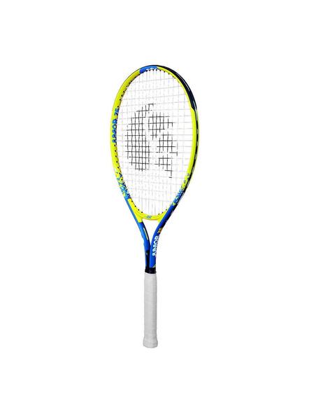 DSC Champs Junior 23 Multicolor Strung Tennis Racquet-YELLOW-26-1