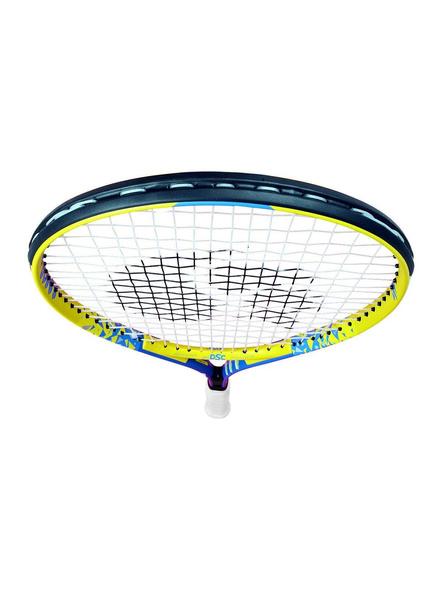DSC Champs Junior 23 Multicolor Strung Tennis Racquet-YELLOW-26-2