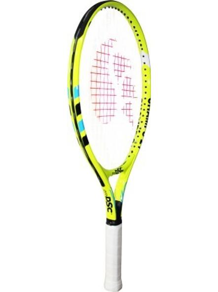 DSC Champs Junior 23 Multicolor Strung Tennis Racquet-WHITE/BLUE-21-1