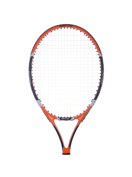 Nivia Pro Drive Tennis Racket (colour may vary)-BLACK & WHITE-.-1