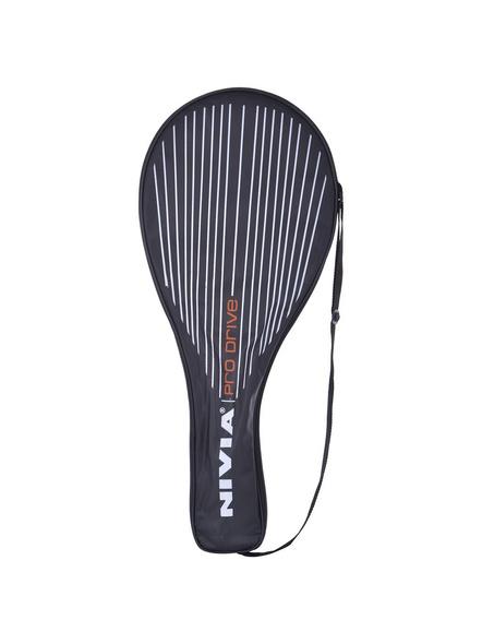 Nivia Pro Drive Tennis Racket (colour may vary)-BLACK & WHITE-.-2