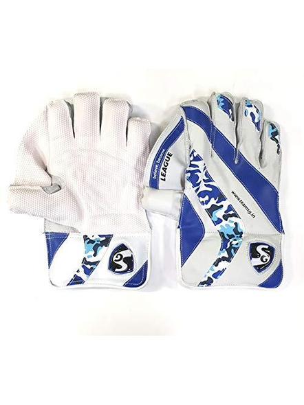 SG League Cricket Wicket Keeping Gloves-25099