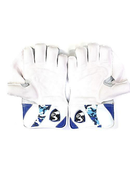 SG League Cricket Wicket Keeping Gloves-NA-YOUTH-1