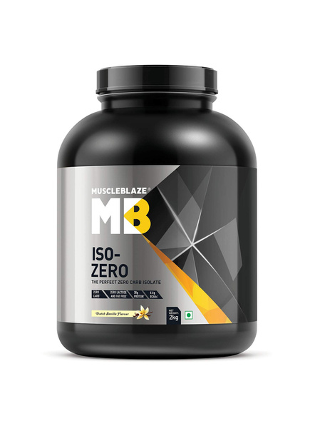 Muscleblaze Iso-zero Low Carb 100% Whey Protein Isolate 2 Kg-1639