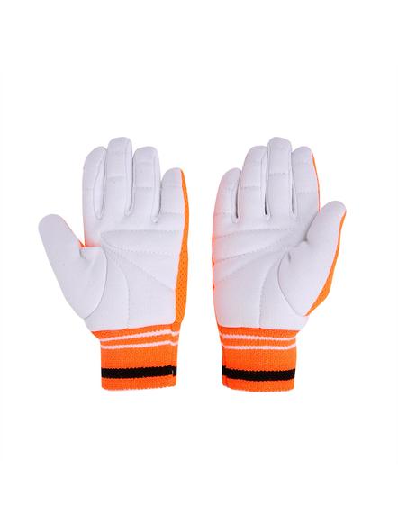 PUMA 041433 INNER GLOVES-MENS-White-orange-1