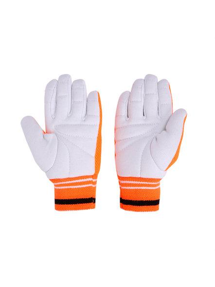 PUMA 041433 INNER GLOVES-MENS-White-orange-2