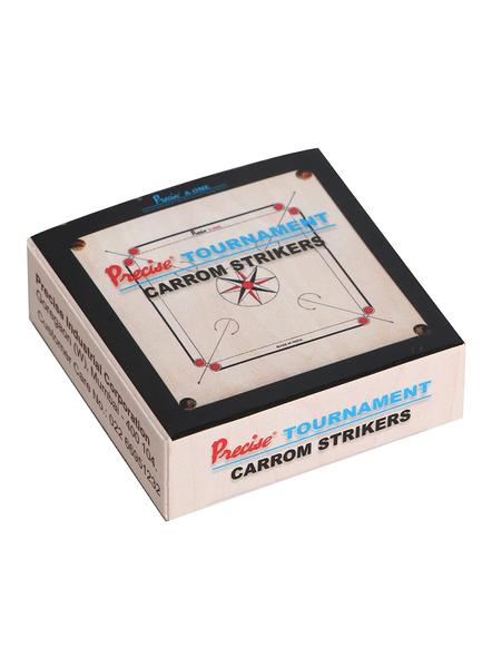 PRECISE PL-S03 TOURNAMENT PLASTIC BOX CARROM STRIKER-NA-.-1