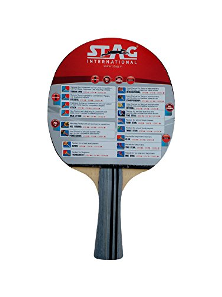 STAG B/INTERNATIONAL TABLE TENNIS BAT-NA-.-1