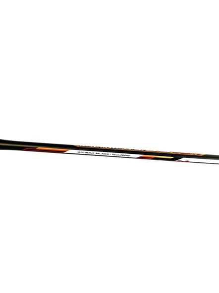 YONEX VOLTRIC 0.9 DG SLIM BADMINTON RACQUETS-BLACK/GOLD-2