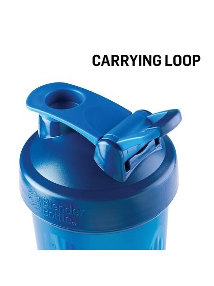 BlenderBottle C01629 Plastic Classic Loop Top Shaker Bottle, 825 ml-CYAN-1
