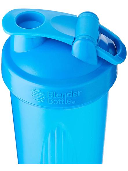 BlenderBottle C01639 Plastic Classic Loop Top Shaker Bottle, 945 ml-CYAN-1