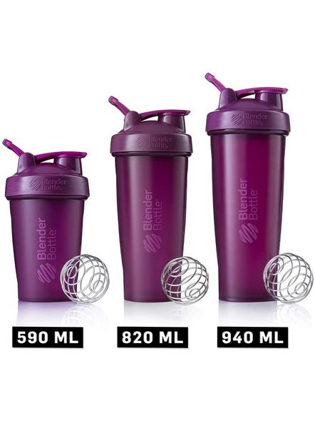 BlenderBottle Classic Loop Top Shaker Bottle, 32-Ounce-PLUM-2