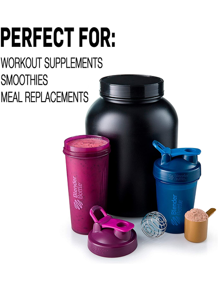 BlenderBottle Classic Loop Top Shaker Bottle, 28-Ounce (Colour May Vary)-BLUE-2
