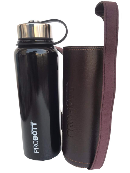 Probott Thermosteel Thermos Flask Water Bottle 1500 ml (PB1500-02) (Colour May Vary)-BLACK-1