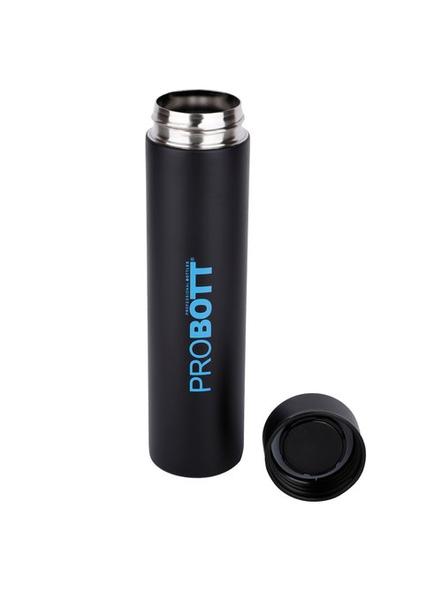 PROBOTT Stainless steel double wall vacuum flask PB 400-10 400 ml Bottle (Colour May Vary)-BLACK-1