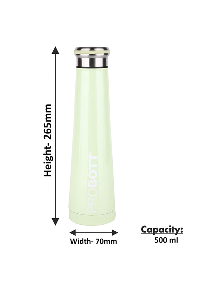 PROBOTT Thermosteel Flask 500ml - PB 500-20 (Colour May Vary)-GREEN-2
