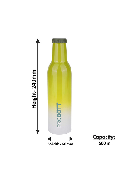 PROBOTT COLD DRINK PB 500-33 500 ml Bottle (Colour May Vary)-GREEN-2