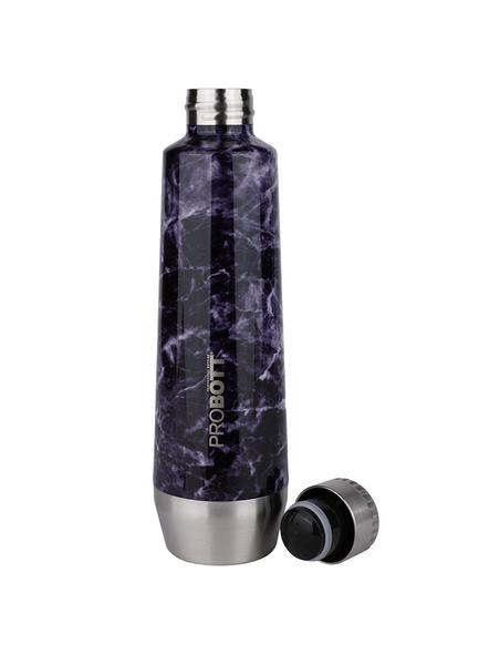 PROBOTT Stainless Steel Double Wall Vacuum Flask Puro Sports Bottle 550ml - PB 550-01 (Colour May Vary)-LIGHT / PURPLE-1