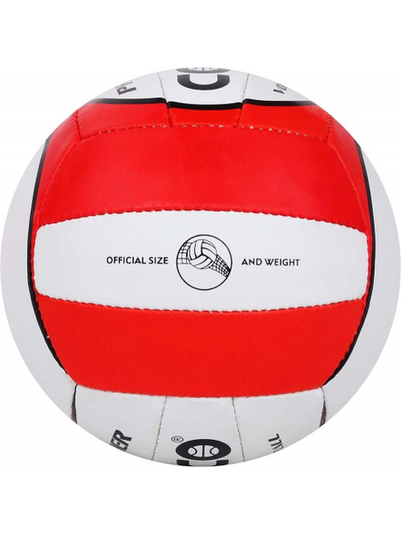 COSCO PREMIER. VOLLEY BALL-RED & WHITE-4-1