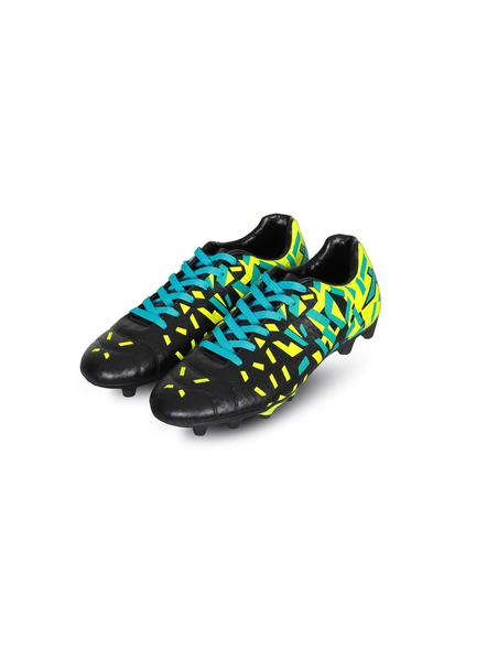 VECTOR X ACURA FOOTBALL STUD-BLACK/F. GREEN-8-1