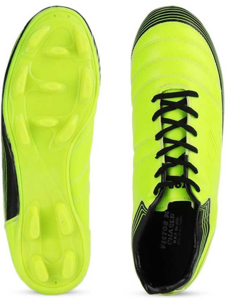 VECTOR X CHASER FOOTBALL STUD-2-GREEN/BLACK-2