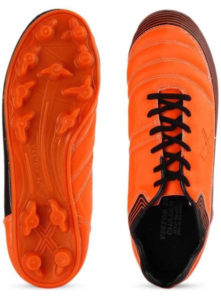 VECTOR X CHASER FOOTBALL STUD-ORANGE/BLACK-1-2