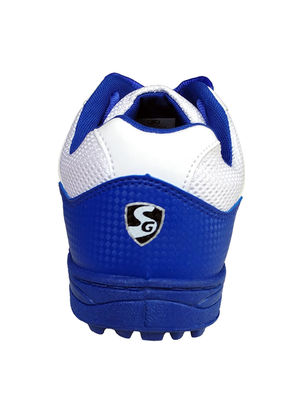 SG SHIELD X 2 CRICKET SHOES-WHITE/BLUE-9-1