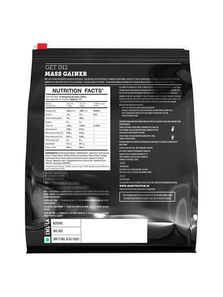 IN2 MASS 5 Kg MASS GAINER-MANGO-5 kg-1