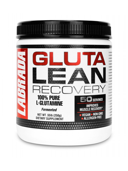 LABRADA L-GLUTAMINE 250 gMS MUSCLE RECOVERY-2343