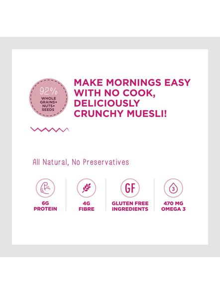 Yogabar Wholegrain Breakfast Muesli-NUTS AND SEEDS-700 g-1