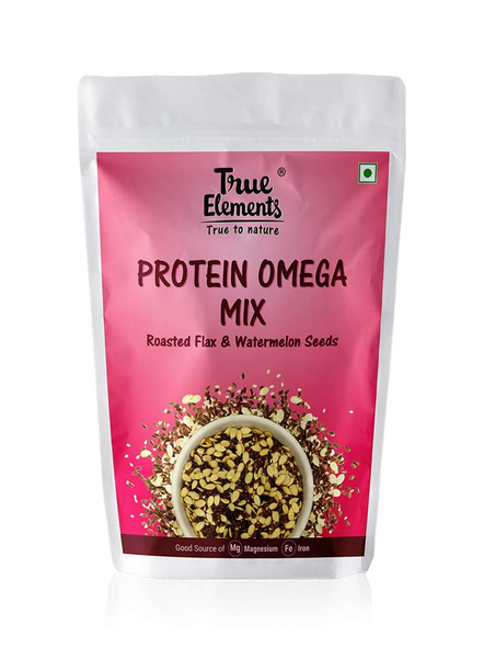 TRUE ELEMENTS PROTEIN OMEGA MIX- 125 GM SEEDS-1970