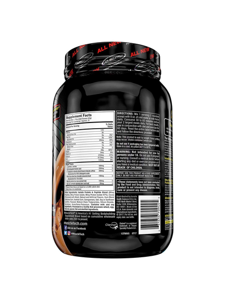 MUSCLETECH NITROTECH RIPRED 2 LBS WHEY PROTIEN ISOLATE-CHOCOLATE FUDGE BROWINE-2 Lbs-1