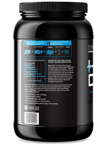 ULTIMATE HYDROCOOL 3 LBS WHEY PROTIEN ISOLATE-CHOCOLATE-3 Lbs-34-2