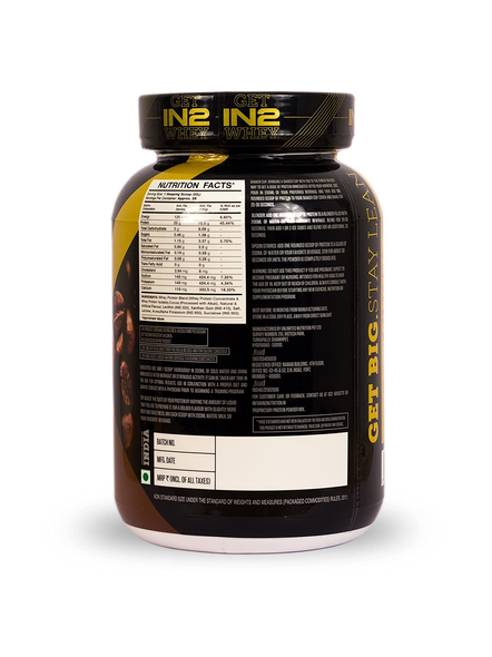 IN2 WHEY PROTEIN 908GMS WHEY PROTIEN BLEND-CAFE MOCHA-908 g-28-1