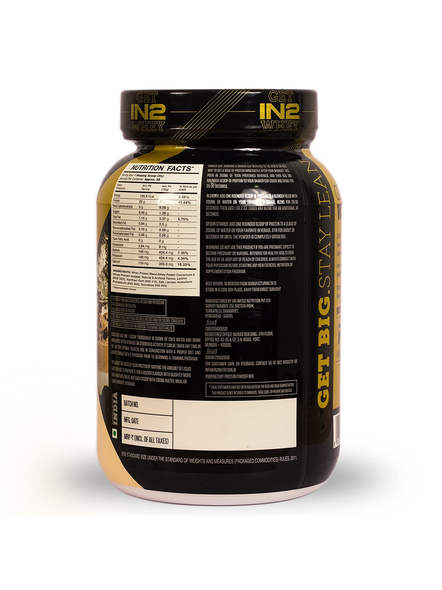 IN2 WHEY PROTEIN 908GMS WHEY PROTIEN BLEND-COOKIE AND CREAM-908 g-28-1