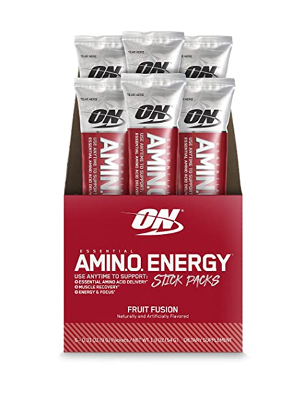 OPTIMUM AMINO ENERGY STICK PACKS AMINO ACIDS-20094