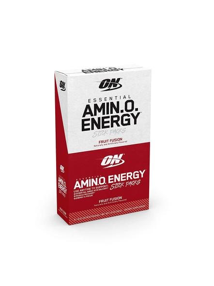 OPTIMUM AMINO ENERGY STICK PACKS AMINO ACIDS-FRUIT FUSION-1