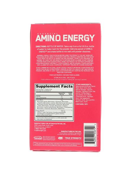 OPTIMUM AMINO ENERGY STICK PACKS AMINO ACIDS-WATERMELON-1